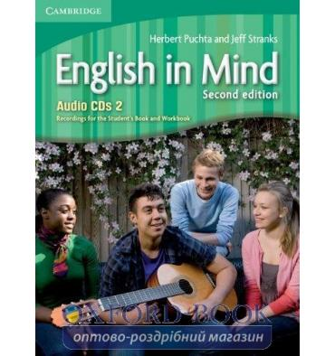 English in Mind 2nd Edition 2 Audio CDs (3) Puchta, H ISBN 9780521183369