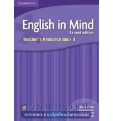 Книга English in Mind 3 Teachers Resource Book Puchta, H  3rd Edition 9780521133760 купить Киев Украина
