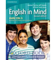 English in Mind 4 Audio CDs (3) Puchta H 2nd Edition 9780521184519 купить Киев Украина