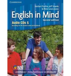 English in Mind 5 Audio CDs (4) Puchta H 2nd Edition 9780521184595 купить Киев Украина