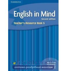 Книга English in Mind 5 Teachers Resource Book Hart B 2nd Edition 9780521184588 купить Киев Украина
