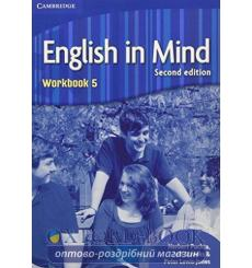 Тетрадь English in Mind 5 Workbook Puchta, H 3rd Edition 9780521184571 купить Киев Украина