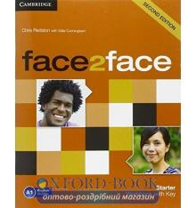 Рабочая тетрадь Face2face 2nd Edition Starter Workbook with Key Redston, Ch ISBN 9781107614765