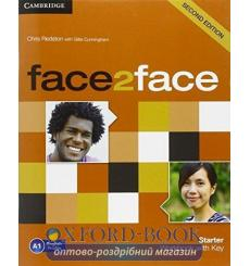 Тетрадь Face2face Starter Workbook with Key Redston 3rd Edition 9781107614765 купить Киев Украина