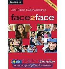 Диск Face2face 2nd Edition Elementary Class Audio CDs (3) Redston, Ch ISBN 9781107422063