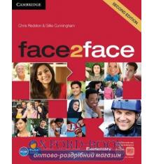 Учебник Face2face 2nd Edition Elementary Students Book with DVD-ROM and Online Workbook Pack Redston, Ch ISBN 9781139566537