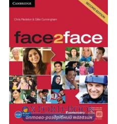 Учебник Face2face Elementary Students Book with DVD-ROM and Online Workbook Pack Redston 3rd Edition 9781139566537 купить Кие...