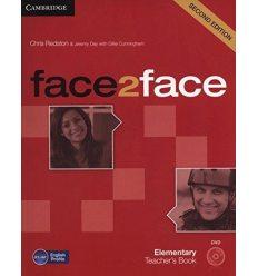 Книга для учителя Face2face 2nd Edition Elementary Teachers Book with DVD Redston, Ch ISBN 9781107654006