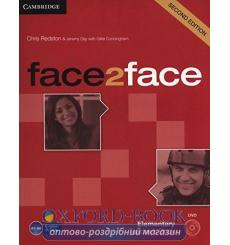 Face2face Elementary Teachers Book with DVD Redston 3rd Edition 9781107654006 купить Киев Украина