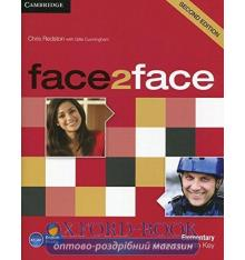 Рабочая тетрадь Face2face 2nd Edition Elementary Workbook with Key Redston, Ch ISBN 9780521283052