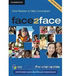 Диск Face2face Pre-intermediate Class Audio CDs (3) Redston Ch 2nd Edition 9781107422094 купить Киев Украина
