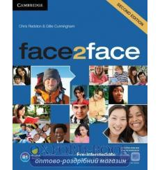 Учебник face2face Pre-Intermediate Students Book with DVD-ROM with Online Workbook  3rd Edition 9781139566582 купить Киев Укр...