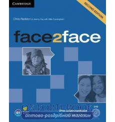 Face2face Pre-intermediate Teachers Book with DVD Redston 3rd Edition 9781107633308 купить Киев Украина