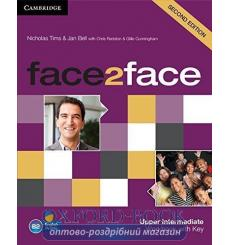 Тетрадь Face2face Upper Intermediate Workbook with Key Tims, N  3rd Edition 9781107609563 купить Киев Украина