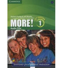 More! Second edition 1 Audio CDs (3) Puchta, H ISBN 9781107691551