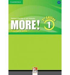 Книга для учителя More! Second edition 1 Teachers Book Puchta, H ISBN 9781107689695