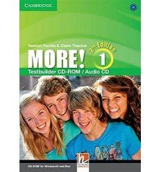 Тесты More! Second edition 1 Testbuilder CD-ROM/Audio CD Cassidy, H ISBN 9781107652743
