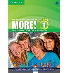 Тесты More! Second edition 1 Testbuilder CD-ROM/Audio CD Cassidy, H ISBN 9781107652743 купить Киев Украина