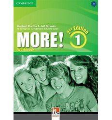 Рабочая тетрадь More! Second edition 1 Workbook Puchta, H ISBN 9781107681354