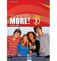 More! Second edition 2 Audio CDs (3) Puchta, H ISBN 9781107649873