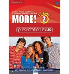 More! 2 Presentation Plus dvd-ROM 2nd Edition 9781107699281 купить Киев Украина