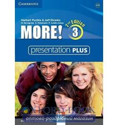 More! 3 Presentation Plus dvd-ROM 2nd Edition 9781107656956 купить Киев Украина