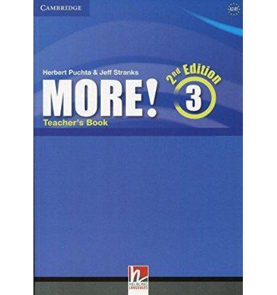 Книга для учителя More! Second edition 3 Teachers Book Pelteret, Ch ISBN 9781107681286