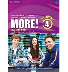 Учебник More! 4 Students Book with Cyber Homework and Online Resources Puchta, H 3rd Edition 9781107640511 купить Киев Украина