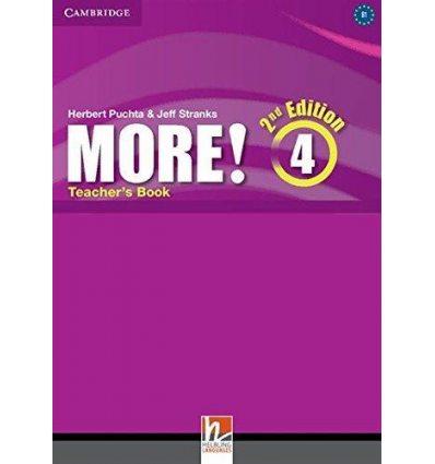 Книга для учителя More! Second edition 4 Teachers Book Pelteret, Ch ISBN 9781107682993