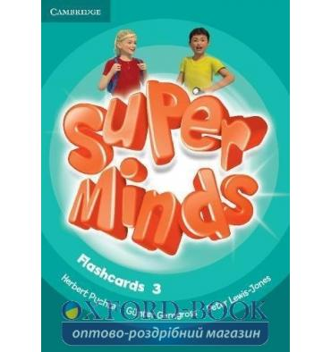 Карточки Super Minds 3 Flashcards (Pack of 83) Puchta G ISBN 9781316631577