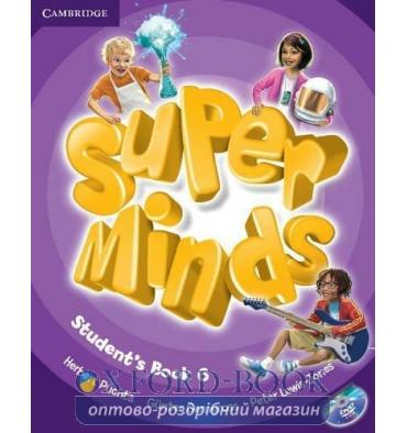 Учебник Super Minds 6 Students Book with DVD-ROM Puchta, H ISBN 9780521223874