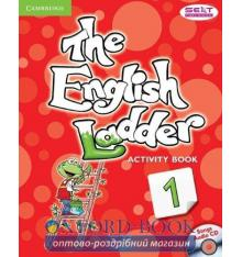 Рабочая тетрадь The English Ladder Level 1 Activity Book with Songs Audio CD House, S ISBN 9781107400634