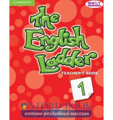 Книга для учителя The English Ladder Level 1 Teachers Book House, S ISBN 9781107400641