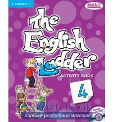 Тетрадь The English Ladder Level 4 activity book with Songs Audio CD House S 9781107400801 купить Киев Украина