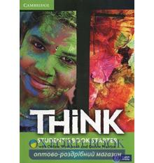 Учебник Think Starter Students Book with Online Workbook and Online Practice Puchta, H ISBN 9781107587212