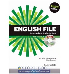 English File Intermediate: Student's Book with iTutor DVD