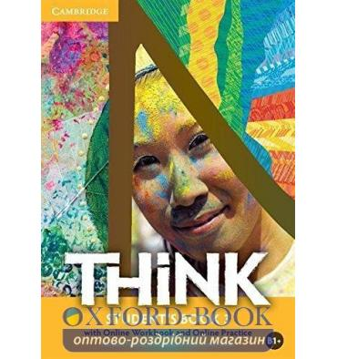 Учебник Think 3 Students Book with Online Workbook and Online Practice Puchta, H ISBN 9781107562622
