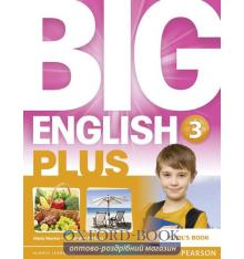 Підручник Big English Plus 3 Students Book ISBN 9781447989189