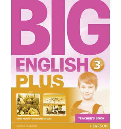 Книга для учителя Big English Plus 3 Teachers Book ISBN 9781447989196