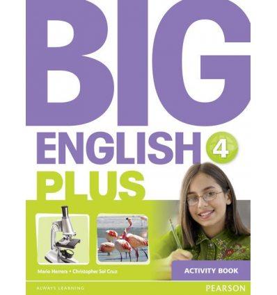 Рабочая тетрадь Big English Plus 4 Workbook ISBN 9781447994411