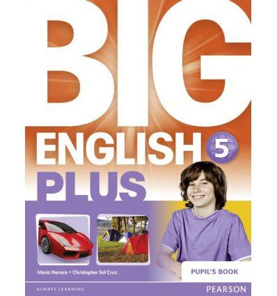 Учебник Big English Plus 5 Students Book ISBN 9781447994589