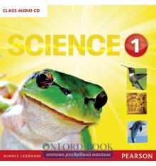 Диски для класса Big Science Level 1 Class Audio CD ISBN 9781292144337