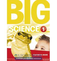 Книга для учителя Big Science Level 1 Teachers Book ISBN 9781292144368