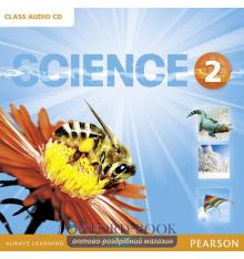 Диски для класса Big Science Level 2 Class Audio CD ISBN 9781292144405