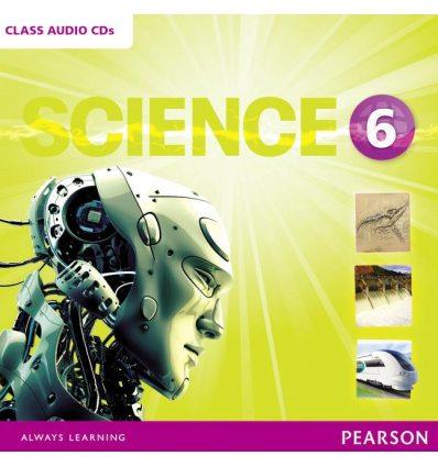 Диски для класса Big Science Level 6 Class Audio CD ISBN 9781292144641