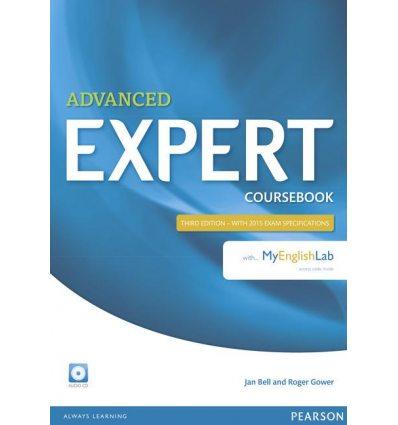 Учебник CAE Expert 3rd Edition 2015 Coursebook with MyEnglishLab ISBN 9781447961994