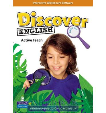 Книга Discover English Starter Active Teach ISBN 9781408233801