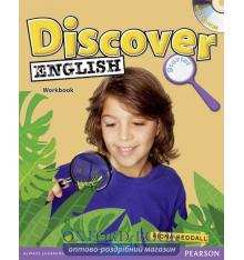 Рабочая тетрадь Discover English Starter Workbook with CD ISBN 9781408209349