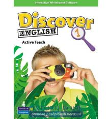 Книга Discover English 1 Active Teach ISBN 9781408233771