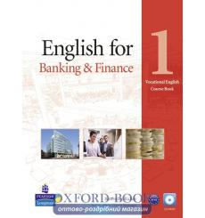 Учебник English for Banking and Finance 1 Students Book with CD 9781408269886 купить Киев Украина